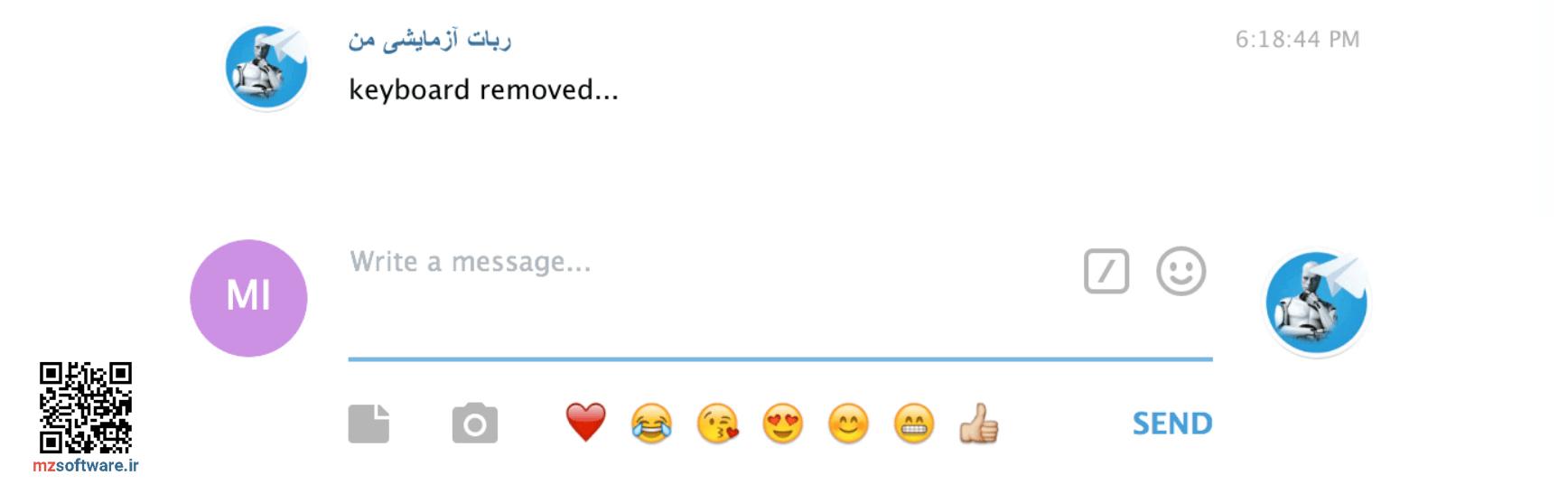 ویرایش پیام در ربات تلگرام | حذف پیام | ویرایش تصویر | ویرایش دکمه های شیشه ای | و ...