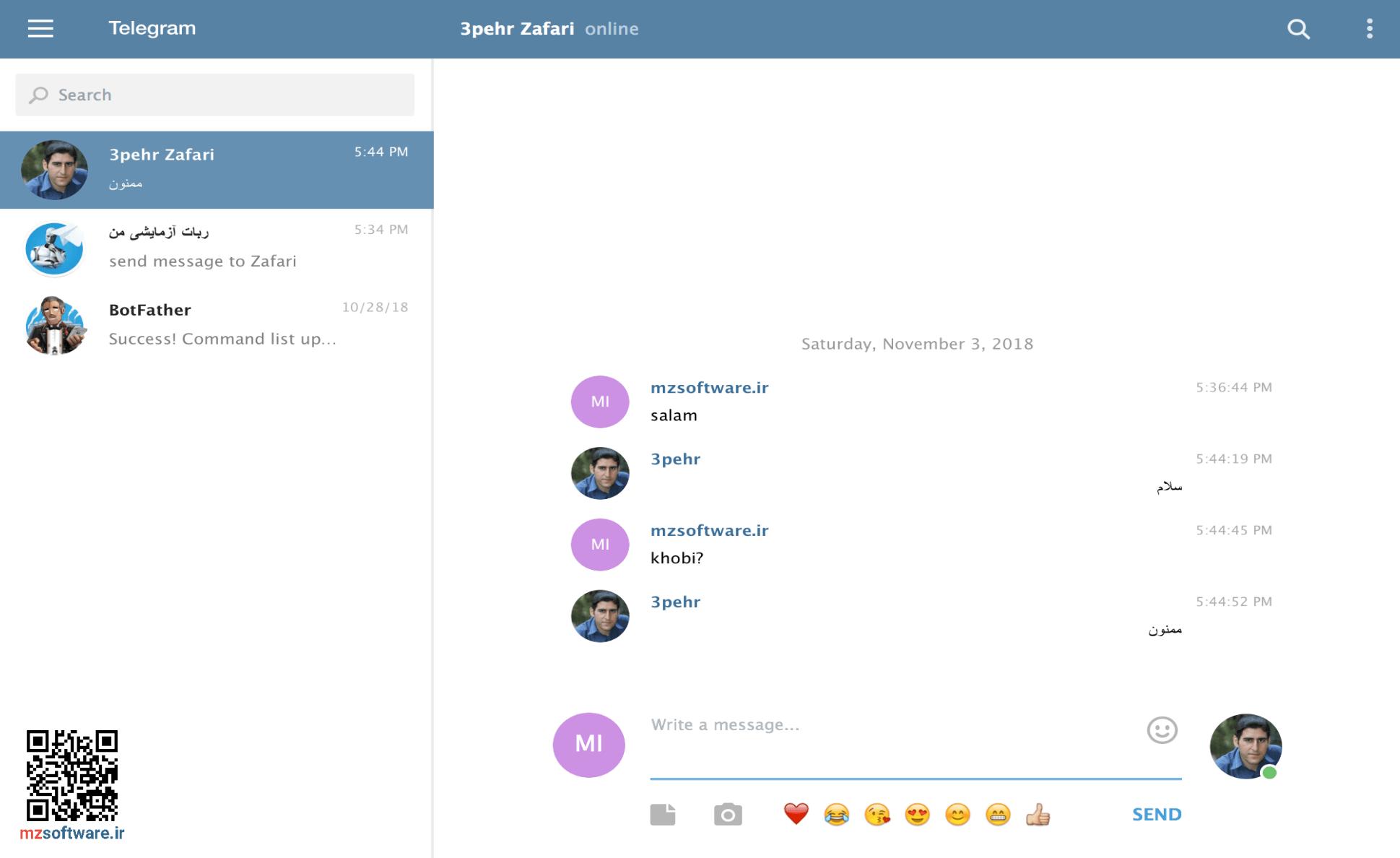 برقراری ارتباط با دیگر کاربران ربات به روش Markdown | قالب بندی متن در ربات تلگرام | آموزش ساخت ربات تلگرام | حرفه ای و متفاوت بیاموزید
